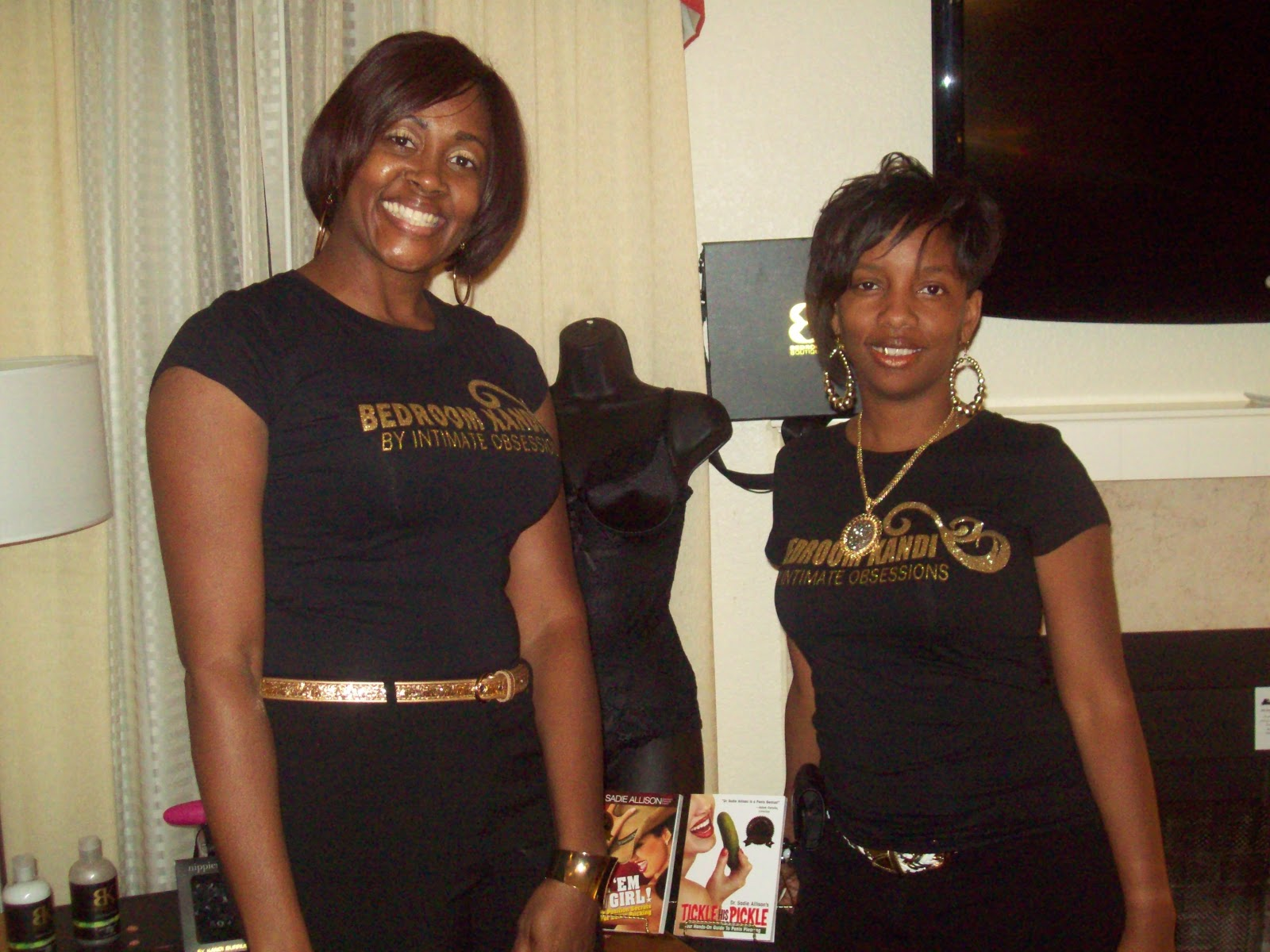 beyond greatness event planning atl ladies black out slumber party bedroom kandi boutique consultant