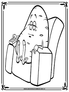 mewarnai gambar kentang hitam putih