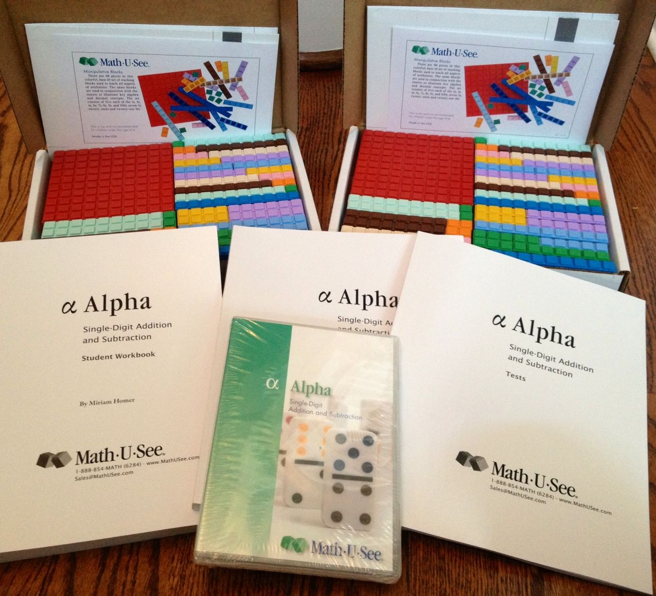 Homeschooling 3: Math U See - Alpha ~ Schoolhouse Review