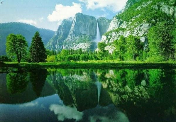 Gambar Pemandangan Danau Indah