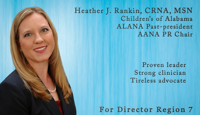 Heather J. Rankin for AANA Director Region 7