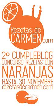 "Concurso ""Rezetas con naranjas"""