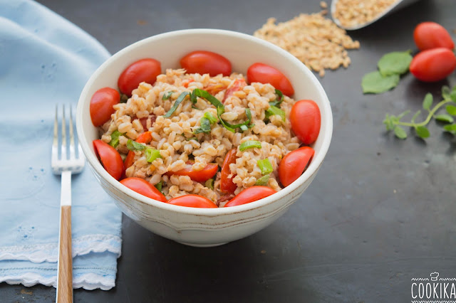 Farro Salad with Tuna