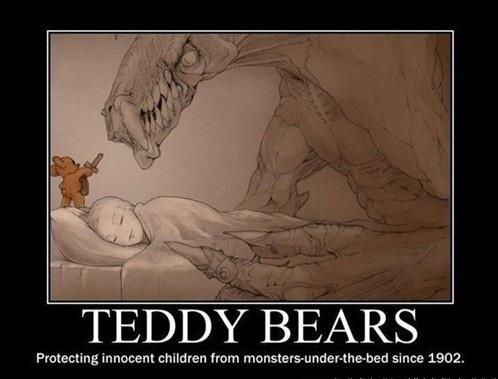 Teddy Bears Protecting Since 1902