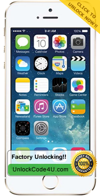 Factory Unlock solutions for iPhone 5s