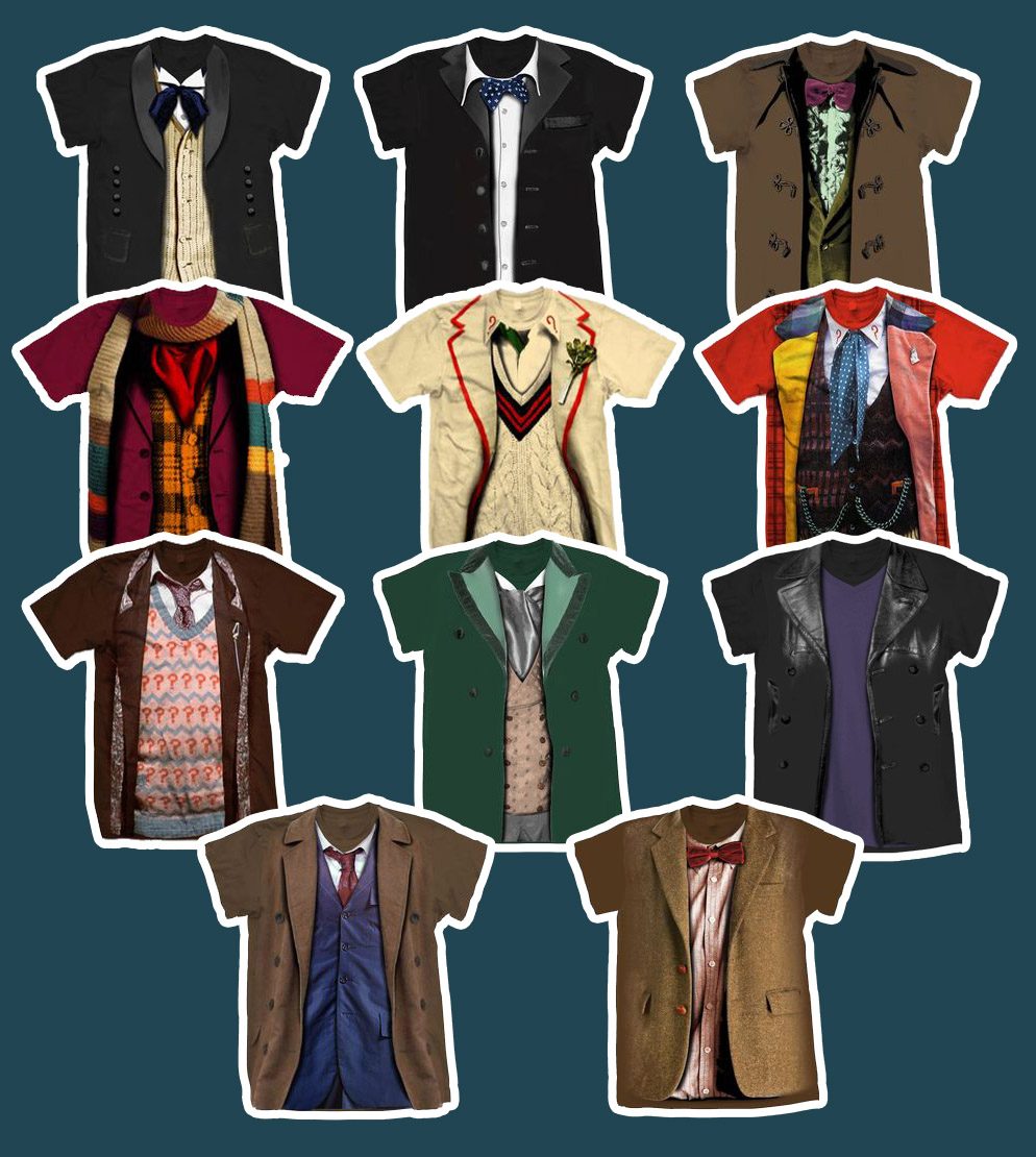 Making my 11th doctor costume july 2014 for Paul smith doctor who shirt