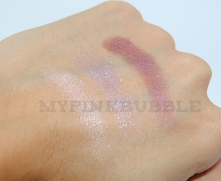 O Boticario: Sombra Baked makeup B infinit collection swatch