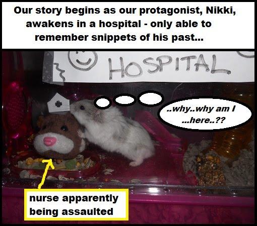 nikki wakes in a hospital