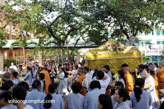 Cung tiễn Trà tỳ Kim Quan Cố HT - Thích Giác Dũng 16