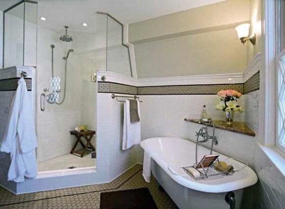 Baños Estilo Art Deco: Cuarto de Baño con Arte para Relajarte – Art Deco : Baños y Muebles