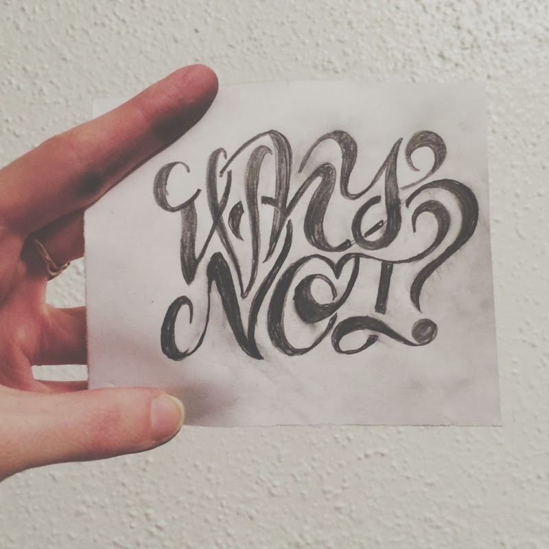 Emily van hoff hand lettering and calligraphy learning