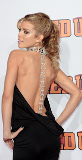 AnnaLynne McCord Bare Back