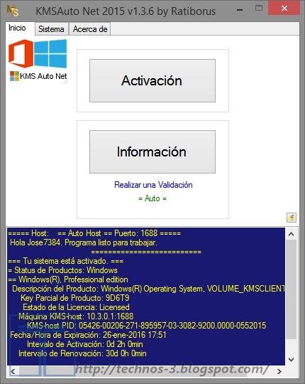 descargar el activador kmsauto net 2015 v.1.3.6