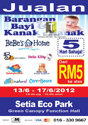 BABY & KIDS PRODUCTS WAREHOUSE SALE 2012