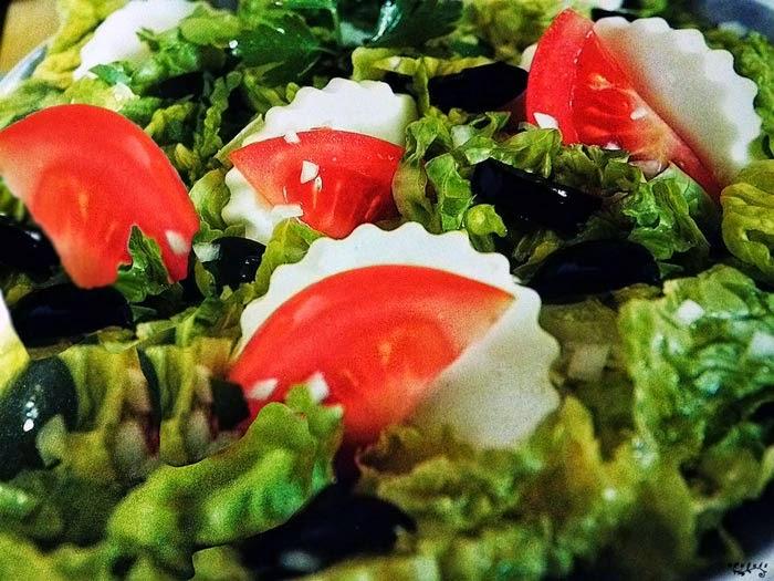 alimentación, ensalada, ensaladas, queso, receta, sana, tomate