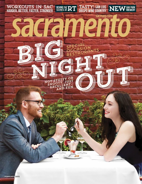 Evan Fowler - Breanna Thomas - Cast Images - Sacramento Magazine Cover Feb 2015