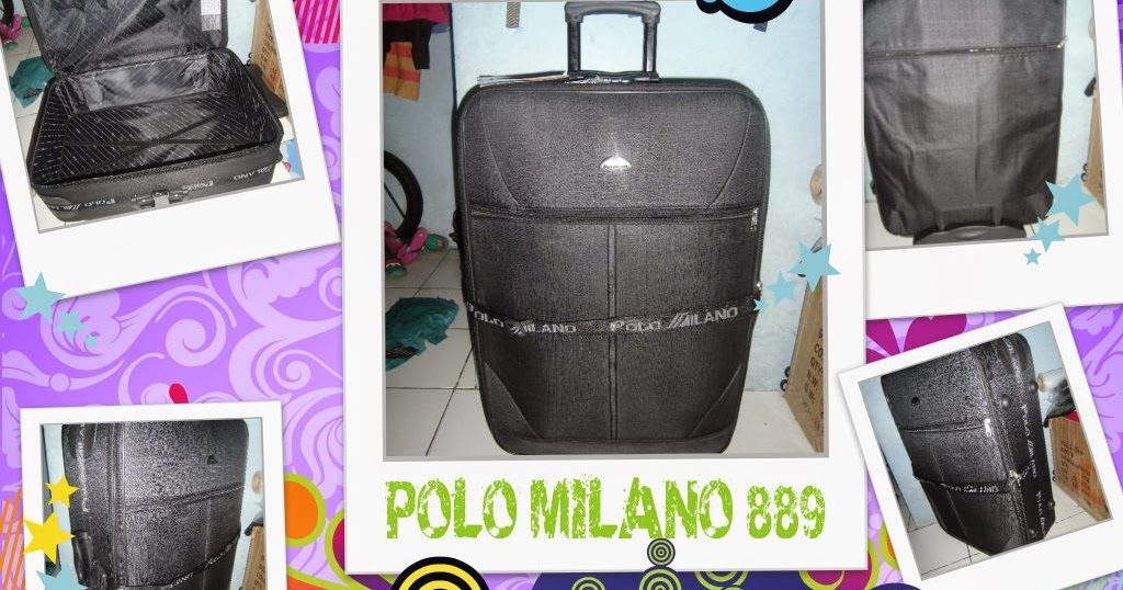 Tas Koper Trolley Polo Milano 889