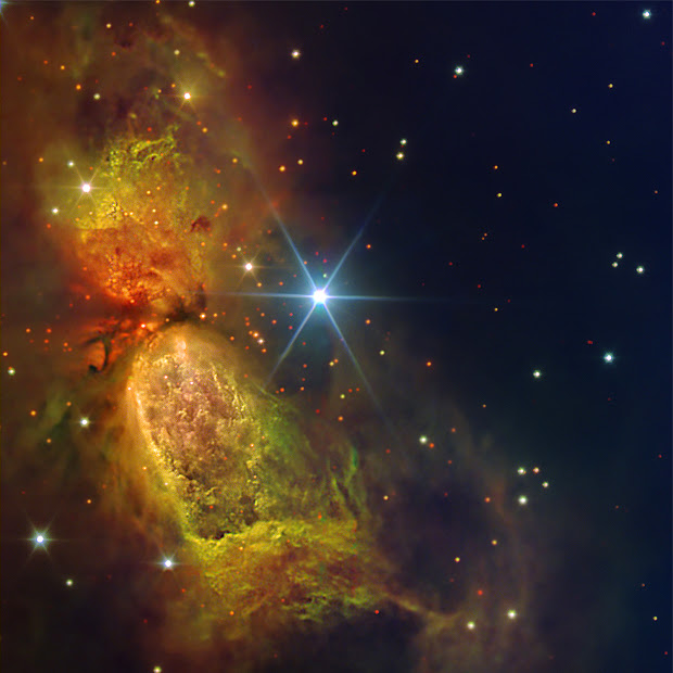 Star-Forming Region Sharpless 2-106 as imaged by the GTC