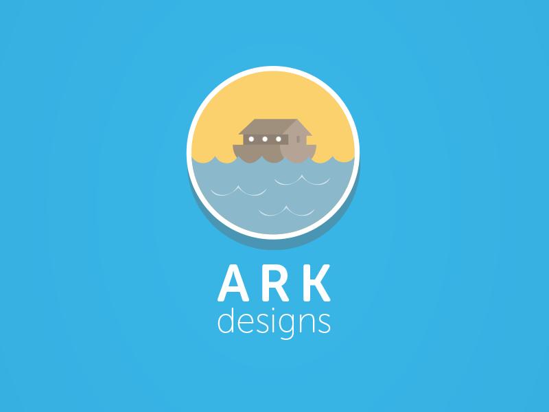 Ark Design Flat Logo Design