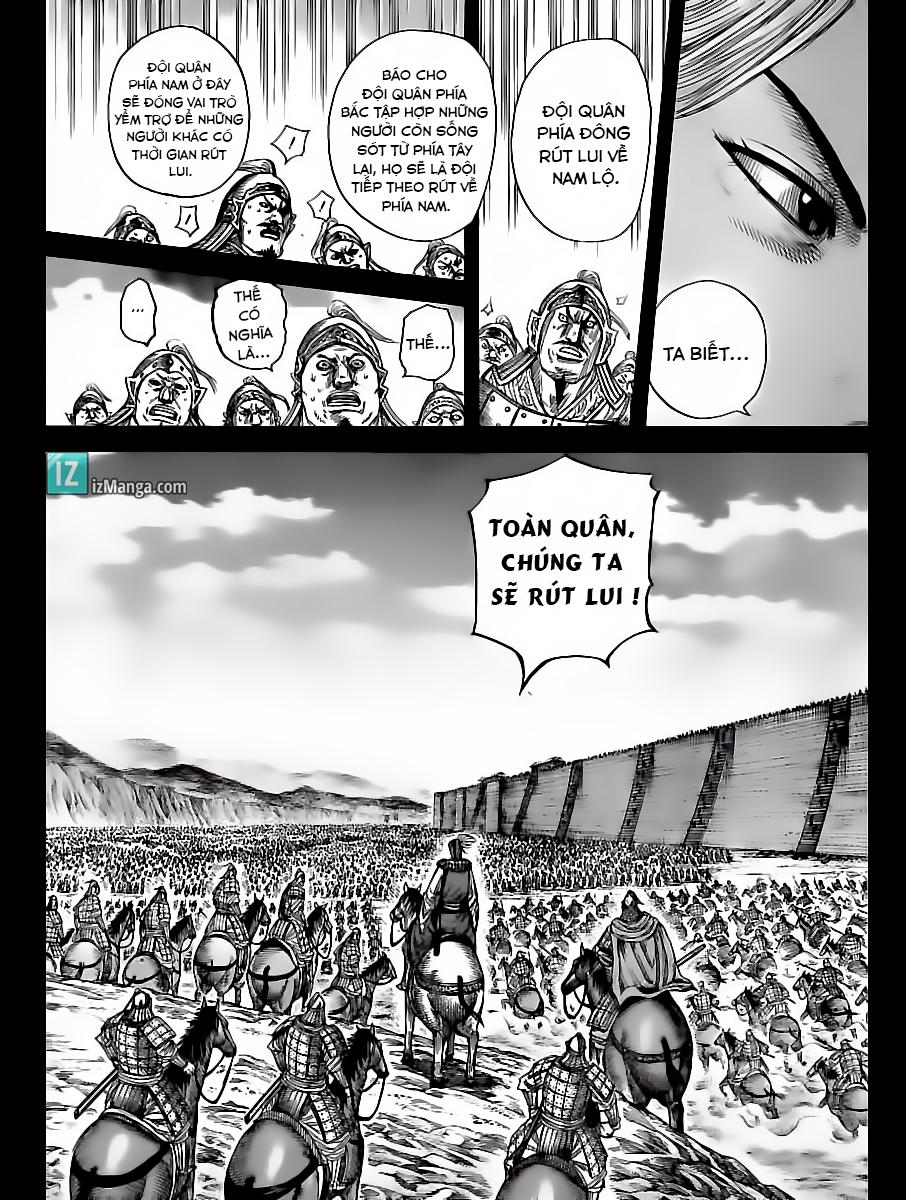 Kingdom - Vương Giả Thiên Hạ Chapter 351 page 5 - IZTruyenTranh.com