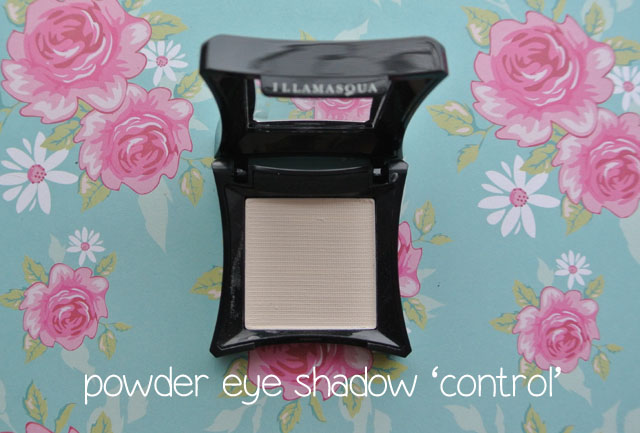 illamasqua mystery box swatch control eye shadow