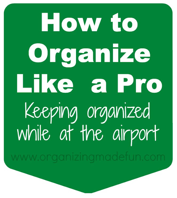 airport organize Go like a pro