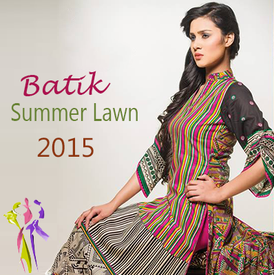 Batik Latest Summer Lawn Collection 2015