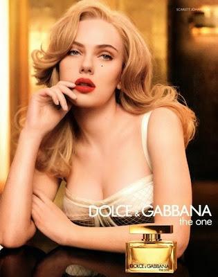 Dolce & Gabbana The One(Scarlett Johansson)