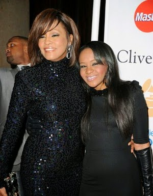 Whitney Houston and her daughter Bobbi Kristina Brown in 2011.
