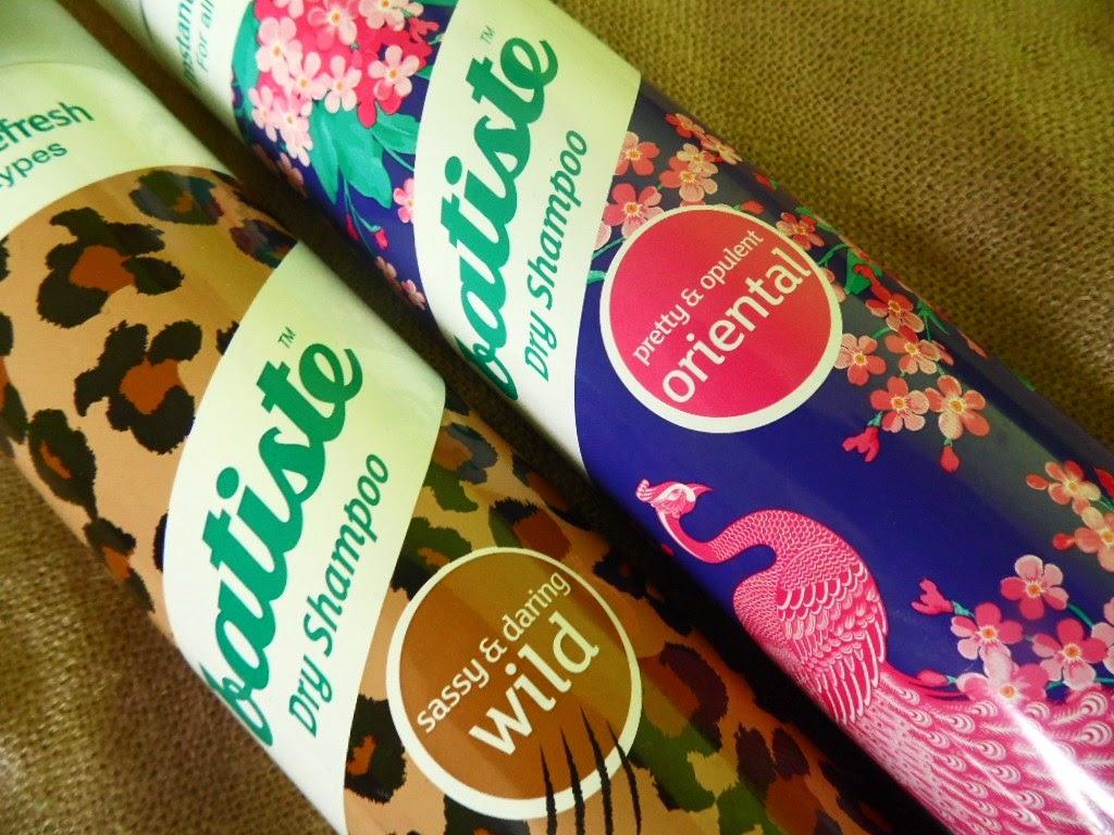 Vivalis | Suche szampony Batiste | WILD vs ORIENTAL