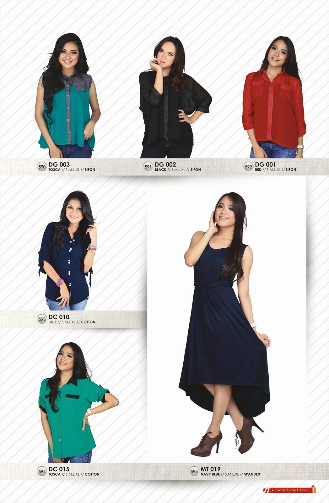 model baju wanita terbaru catenzo