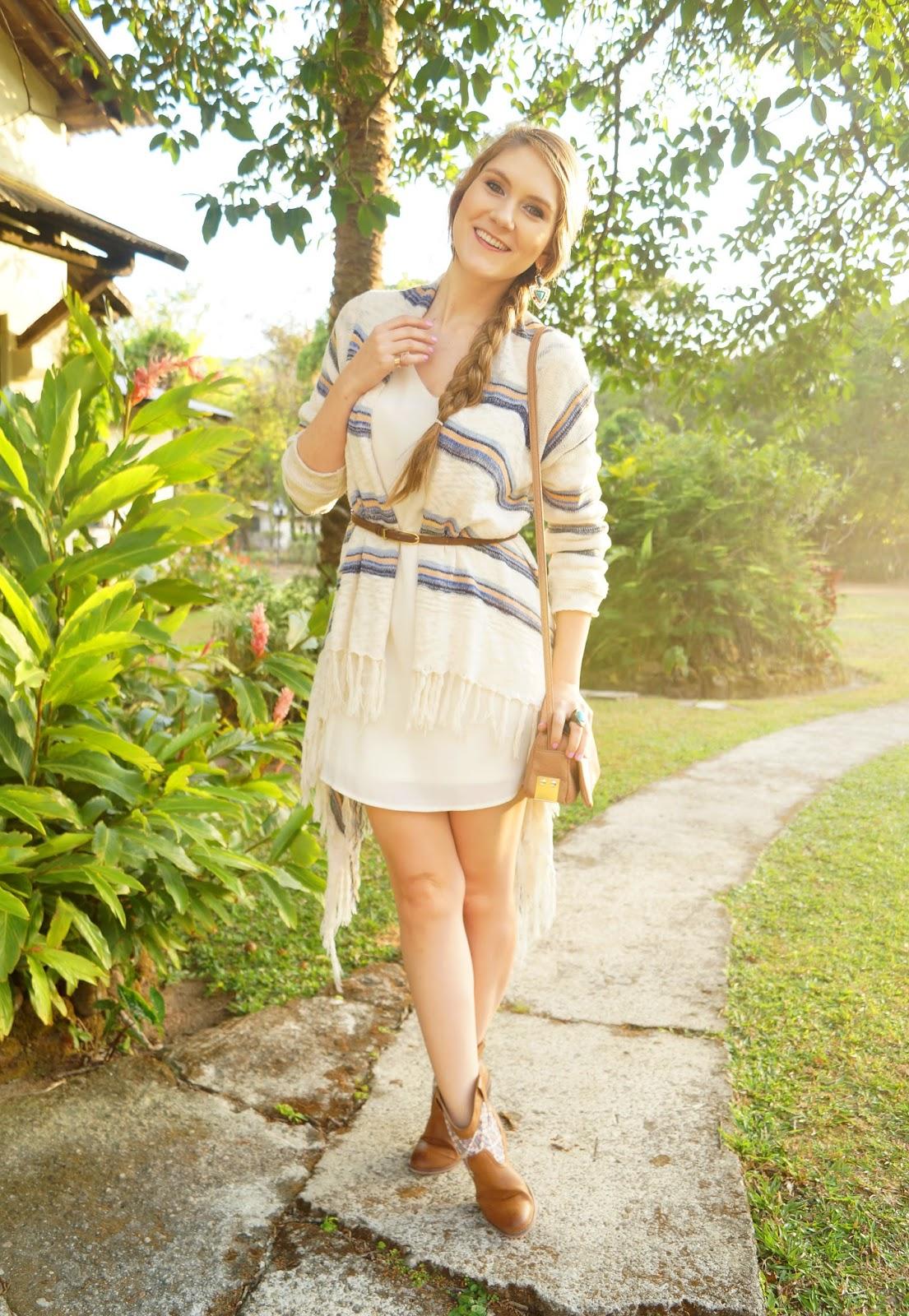 Cute outfit with Boho Chic Kimono