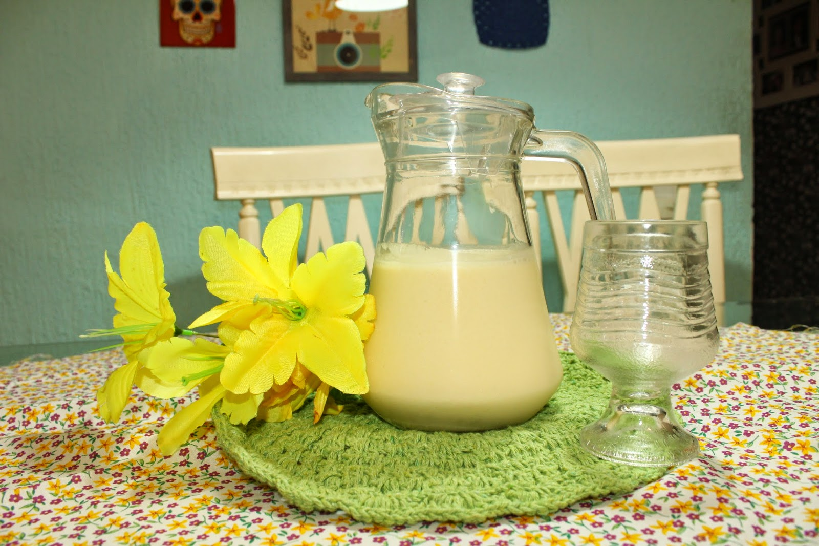 receita de suco de milho