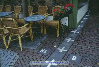 The border between Netherlands and Belgium