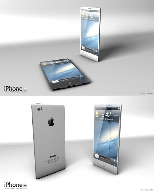 iPhone Plus Apple Concept