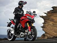 2012 Ducati Multistrada 1200S Touring Gambar Motor 5