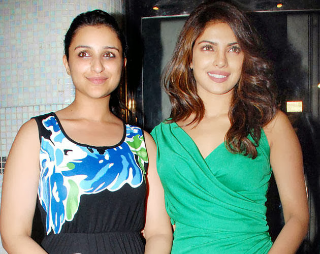 Latest Pics of Parineeti Chopra and Priyanka Chopra