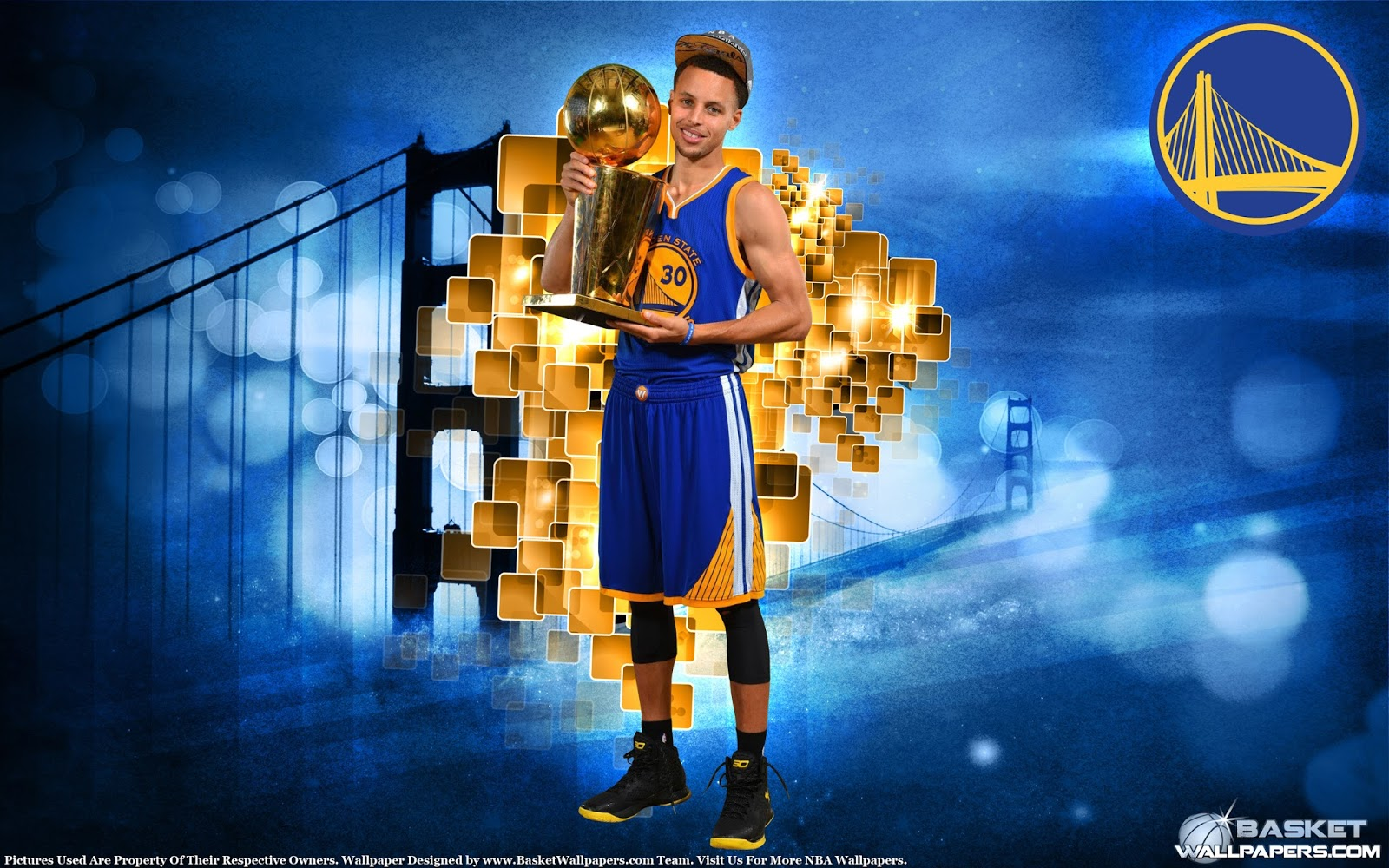 NBA Champion Stephen Curry 2015 Wallpaper