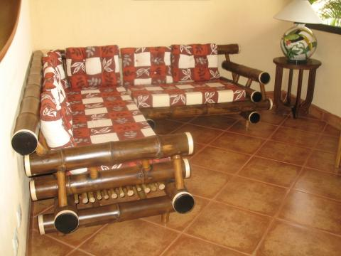 Bamboo Living Room Sets3