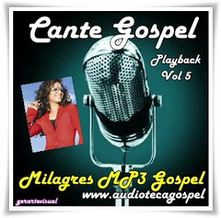 Aline Barros - Cante Gospel - (Playback) - (Vol.05)