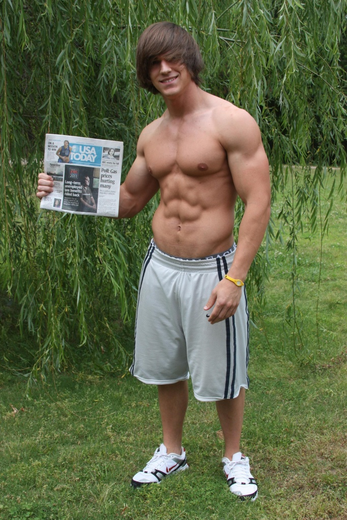 Picture About Impressive Physique Fitness Model Abel 22 Years Old