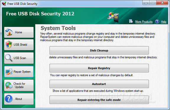 USB Disk Security protege