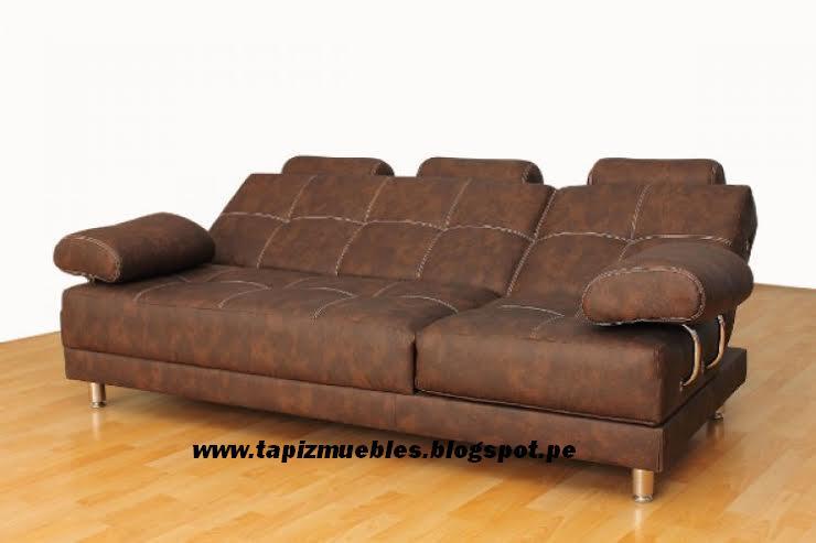 Tapizado de muebles tapizados en cuerina muy durable for Tapizado de muebles