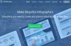 Venngage: para crear y publicar vistosas infografías online en forma gratuita