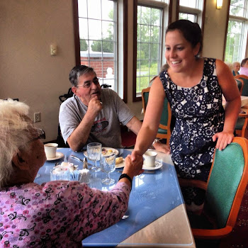 Elise Stefanik Works a Senior Center in Plattsburgh