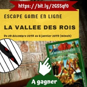 ESCAPE GAME La Vallée des rois