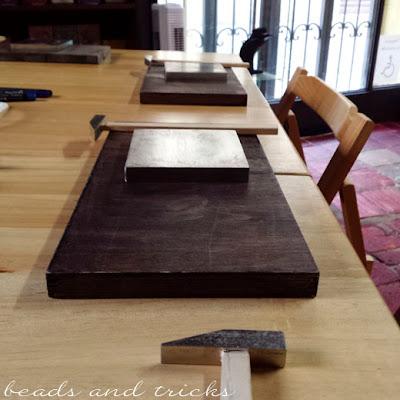 Workshop lavorazione del metallo