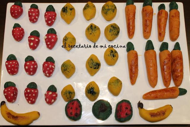 frutitas de mazapan