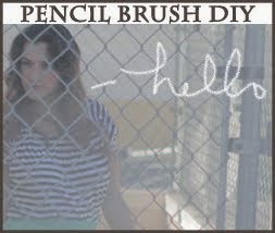 PENCIL BRUSH DIY FOR PHOTOSHOP