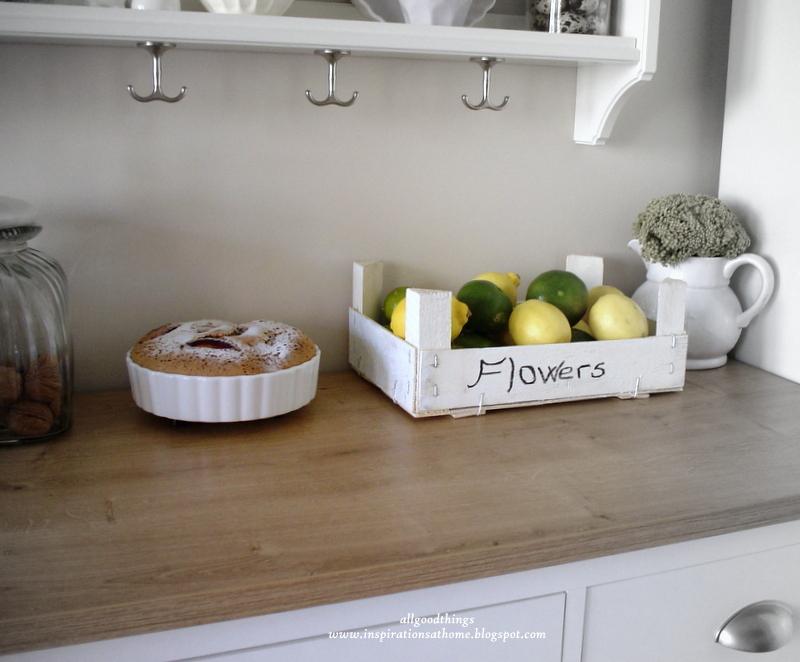 Gün geldi mutfakta limon ve mandalinalara ev sahipliği yapar oldu